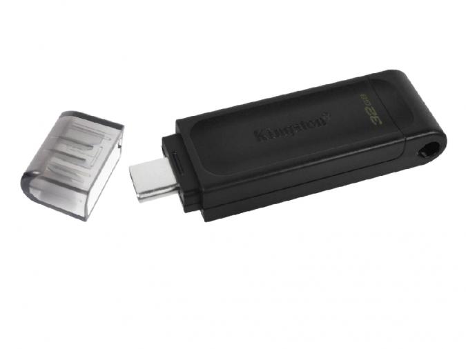 USB Флеш 64GB 3.0 Kingston DT70/64GB черный