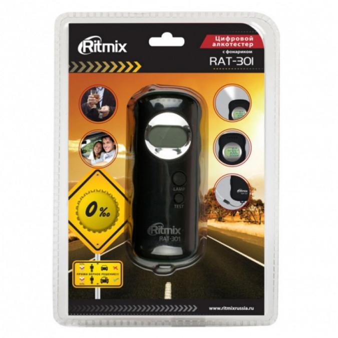 Алкотестер Ritmix RAT-301