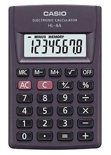 Калькулятор карманный CASIO HL-4A-S-EP