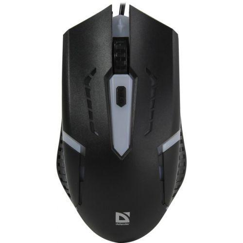 Мышь проводная Defender Hit MB 601 черный, блистер