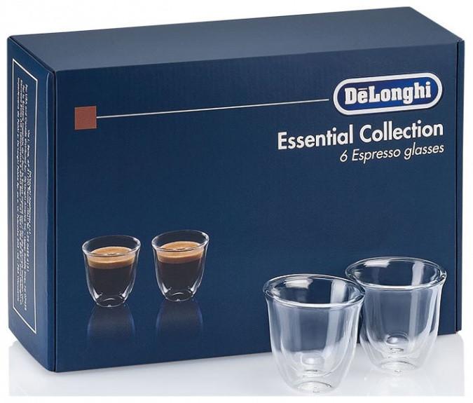 Чашки для эспрессо DeLonghi Espresso cups DLSC300 (6шт)