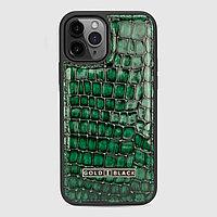 Чехол для телефона iPhone 12/12 Pro зелёный