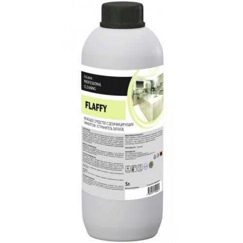Моющее средство с дезинфицирующим эффектом и устранитель запахов FLAFFY 1 л