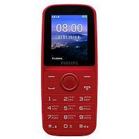 Мобильный телефон Philips E109 красный
