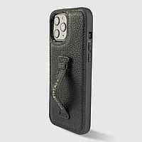 Чехол для телефона iPhone 12 Pro Max Finger-holder Nappa Black