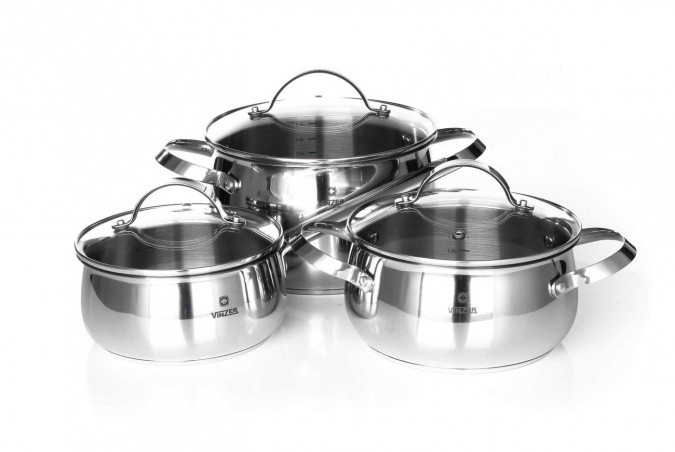 Набор посуды VINZER Culinaire 89030 (6 пр.)
