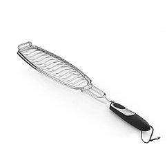 Решетка для рыбы 30.5x11x3 см с пласт. ручкой