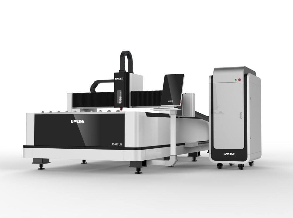 Волоконный лазерный станок для резки металла GWEIKE LF3015LN