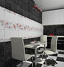 Кафель | Плитка настенная 25х50 Мегаполис | Megapolis светло-серая, фото 2