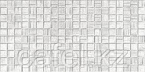 Кафель   Плитка настенная 25х50 Мегаполис   Megapolis светло-серая мозайка