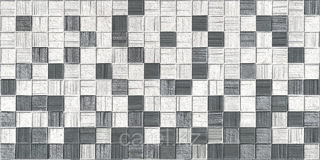 Кафель | Плитка настенная 25х50 Мегаполис | Megapolis серая мозайка