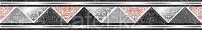 Кафель   Плитка настенная 25х50 Мегаполис   Megapolis бордюр G1