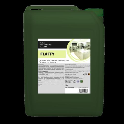 Моющее средство с дезинфицирующим эффектом и устранитель запахов FLAFFY 5 л