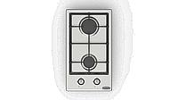 Встраиваемая газовая плита DANKE 3200 CFF inox