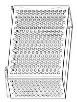 Корзина для кондиционера Модель № 016 белый