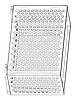 Корзина для кондиционера Модель № 016 серый