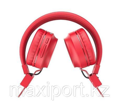 Bluetooth наушники Hoco W25 Red Красные, фото 2