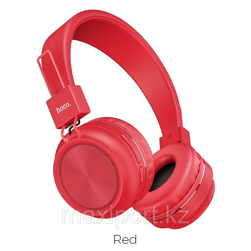 Bluetooth наушники Hoco W25 Red Красные