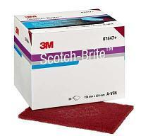 3M Scotch-Brite CF-HP 7447+Лист шлифовальный, 158 мм x 224 мм, AVF +, 20 шт./уп., 3 уп./кор.
