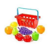 Набор продуктов с корзинкой