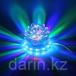 Диско-шар светодиодный Лотос