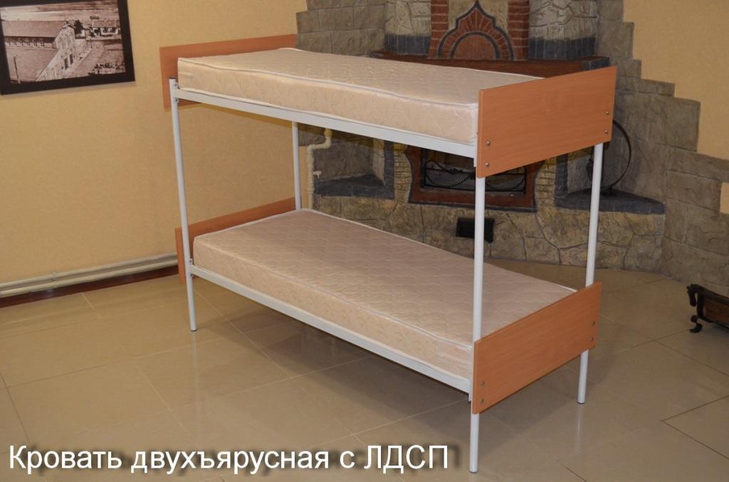 Кровать двухъярусная комбинированная