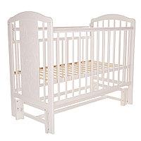 Кровать детская Pituso Noli Мишутка Белый с маятником, фото 1