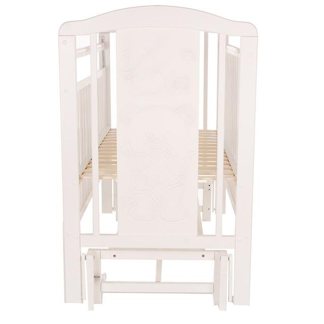 Кровать детская Pituso Noli универсальный маятник Мишутка Белый