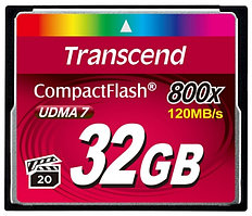 Transcend TS32GCF800, Compact Flash 32GB 800x