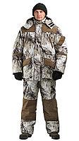Костюм зимний для охоты и рыбалки URSUS Горка Буран (снежный лес), размер 52-54