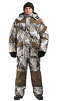 Костюм зимний для охоты и рыбалки URSUS Горка Буран (снежный лес), размер 56-58