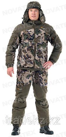 Костюм демисезонный для охоты и рыбалки Novatex Кобра Осень -15°C (ткань алова, кобра), размер 56-58, фото 2