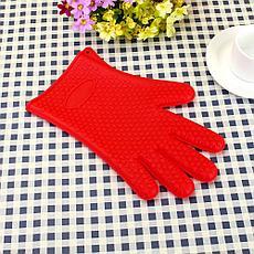 Перчатка кухонная силиконовая, фото 3