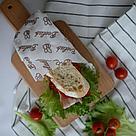 Восковая салфетка 15 на 15 для хранения еды Beelab., фото 3