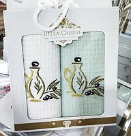 """Подарочный набор полотенец """"Оливки"""". (40х60)"""