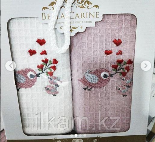 """Подарочный набор полотенец """"Птички"""". (40х60), фото 2"""