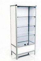 Шкаф 2-х створчатый, металлический ШМ-01