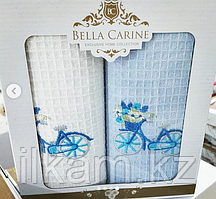 """Подарочный набор полотенец """"Велосипедик"""". (40х60)"""