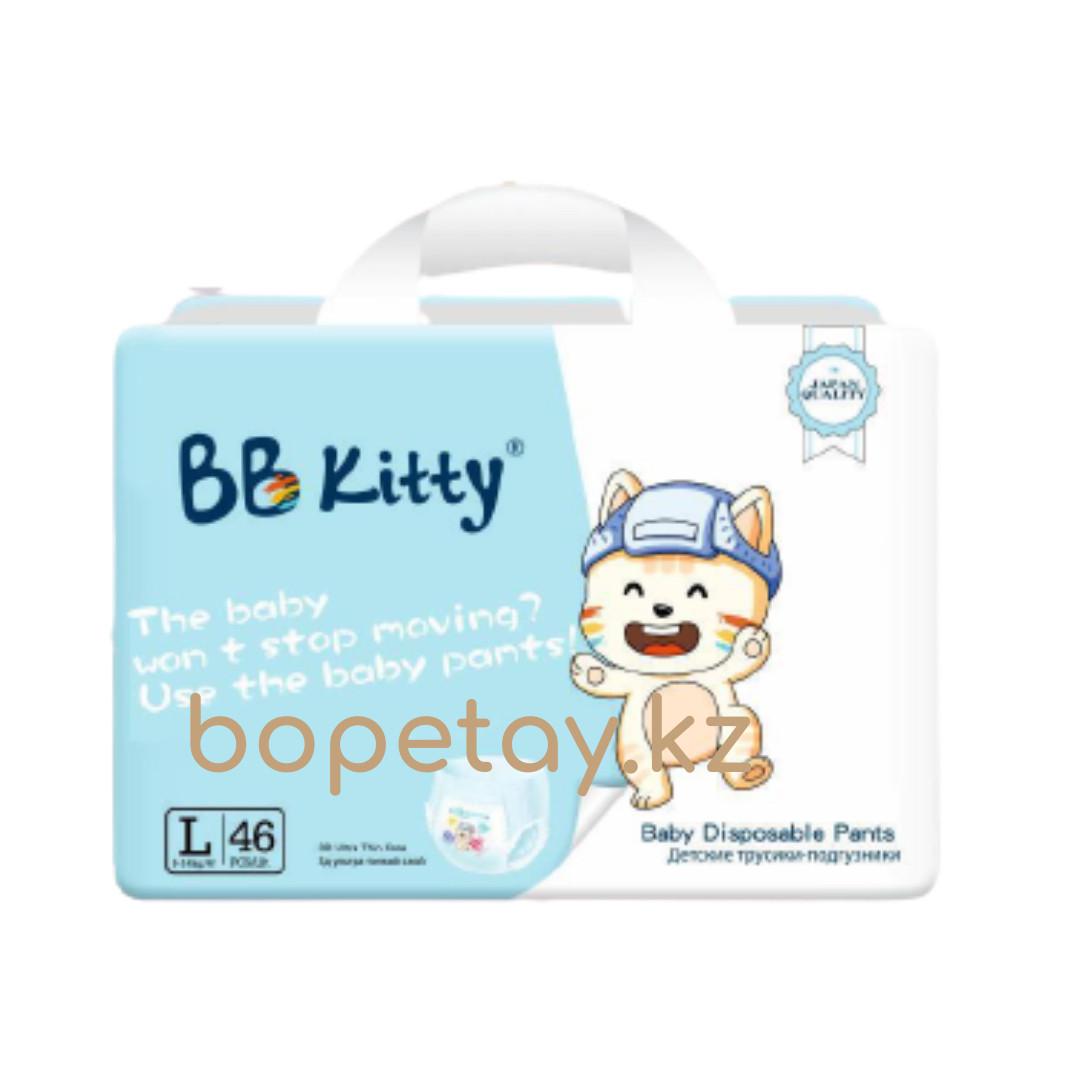 Трусики BB Kitty L (9-14кг) 46 штук