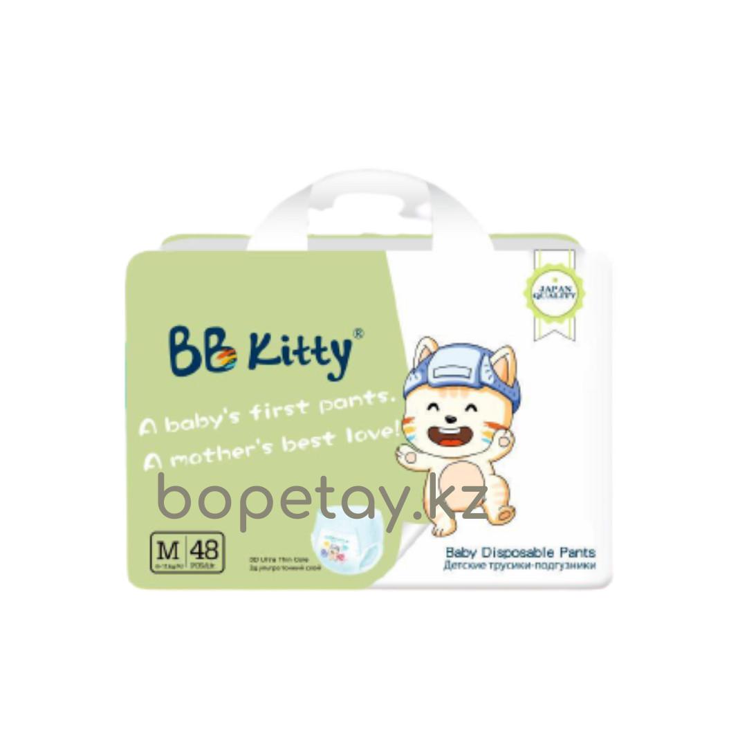 Трусики BB Kitty M (6-11кг) 48 штук