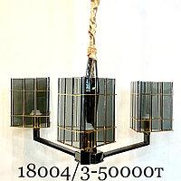 Лофт неоклассика люстра 18004 на 3 лампы