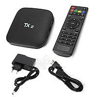 Приставка SMART TV TX2 R2 RK3229, 4Gb/64Gb, Wi-Fi, BT, AV, LAN