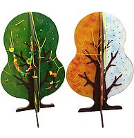 Шнуровальный планшет «Дерево. Времена года»