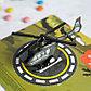 Подарочный набор «Юному герою»: вертолёт, наклейки, конфеты 20 г, фото 2
