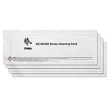 Zebra 105999-311 Чистящий комплект для принтеров серии ZC (5 чистящих карт в упаковке)
