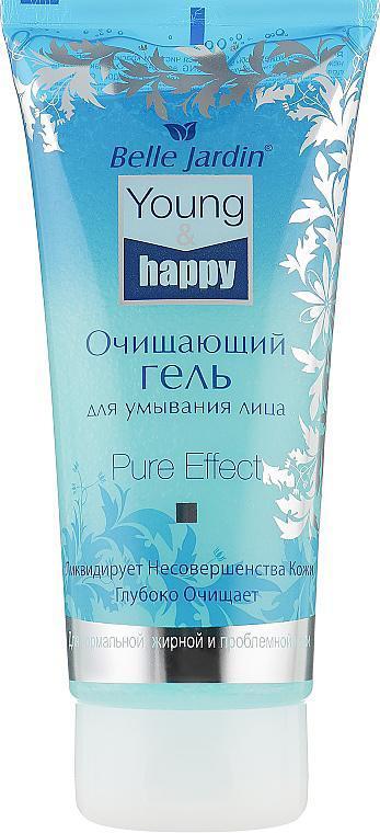 Очищающий гель для умывания лица Young&happy