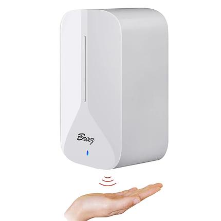 Сенсорный дозатор для мыла и антисептика Breez: BSD1000W, фото 2
