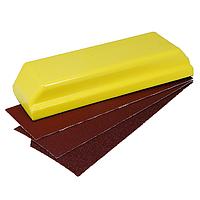 Шлифовальный блок мягкий 66 х 195 мм