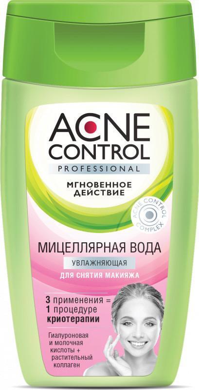 Мицеллярная вода для лица увлажняющая Acne control professional