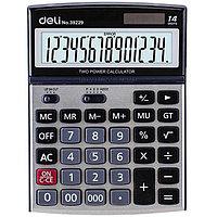 Калькулятор 14 разряд. Deli 39229